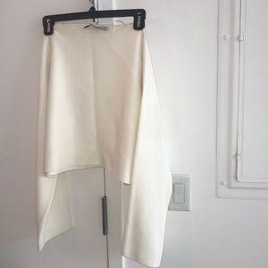 NWOT Zara knit bell sleeve top size medium